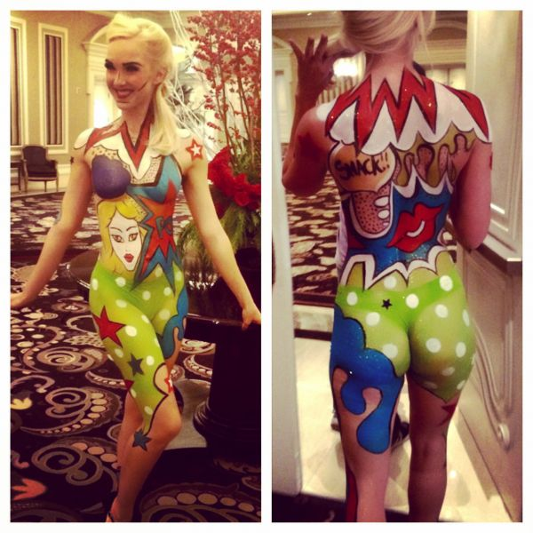 Body Painter Hair Stylist And Makeup Artist Special